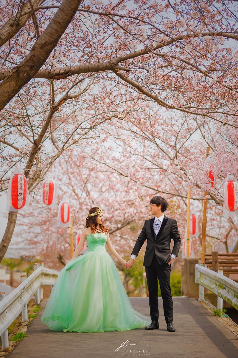 2017日本海外婚紗,關西櫻花婚紗,自助婚紗