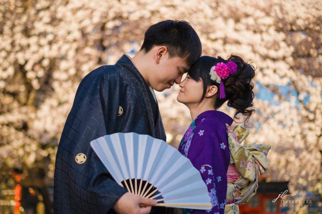 2016京都櫻花婚紗推薦, 京都和服寫真推薦,振袖